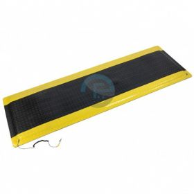 Tapis anti-fatigue bordures jaunes
